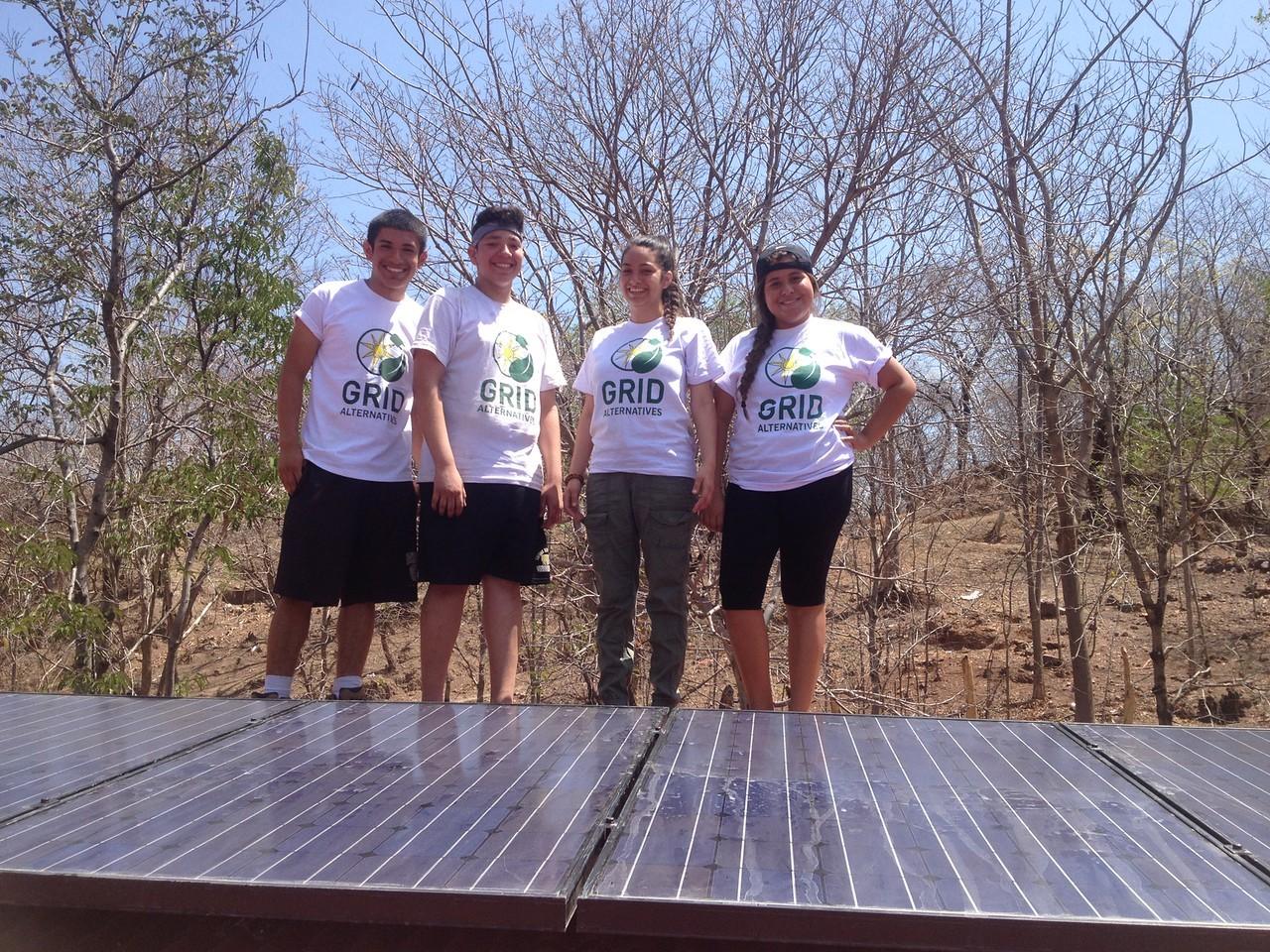 Student team in Nicaragua
